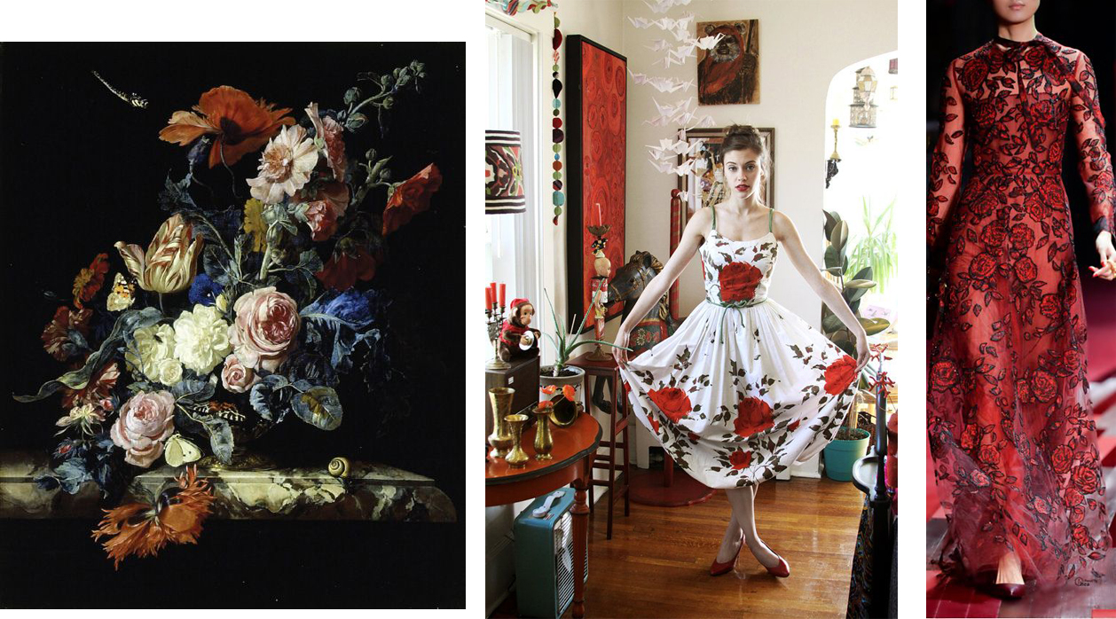 Willem Van Aelst, Vintage Dress fromWhynaughtShop on Etsy, Valentino 2013