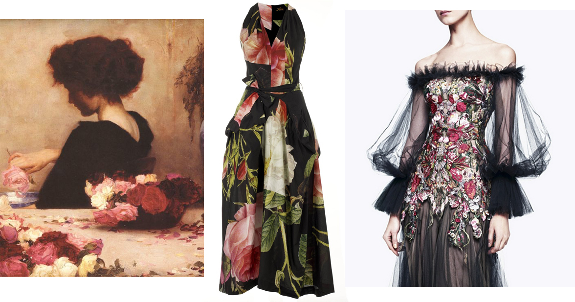 Herbert James Draper - Pot Pourri (Detail),Vivienne Westwood, Alexander McQueen