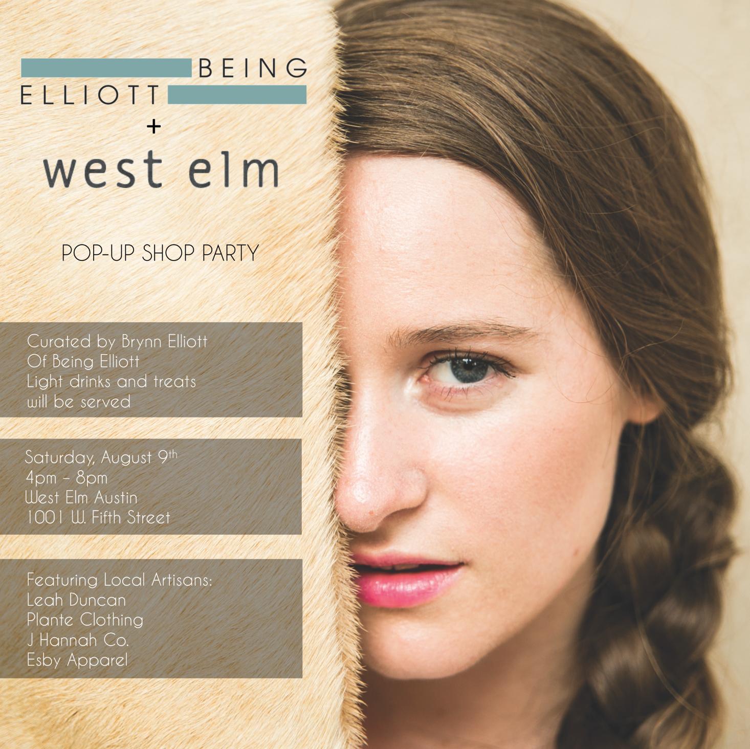Being Elliott x West Elm Austin