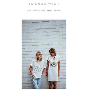To Know Wear