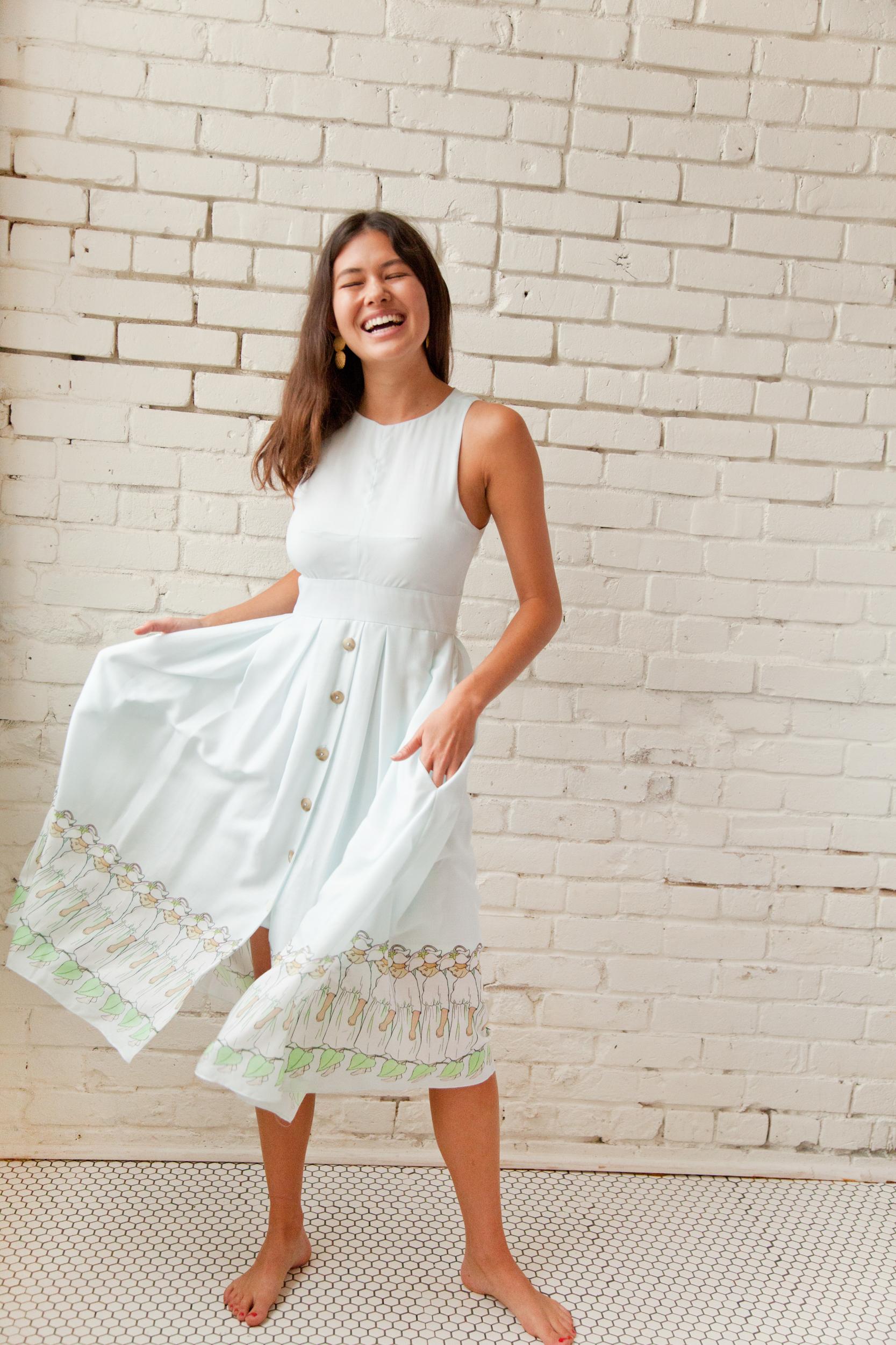 Plante Hazel Dress Fairy Print