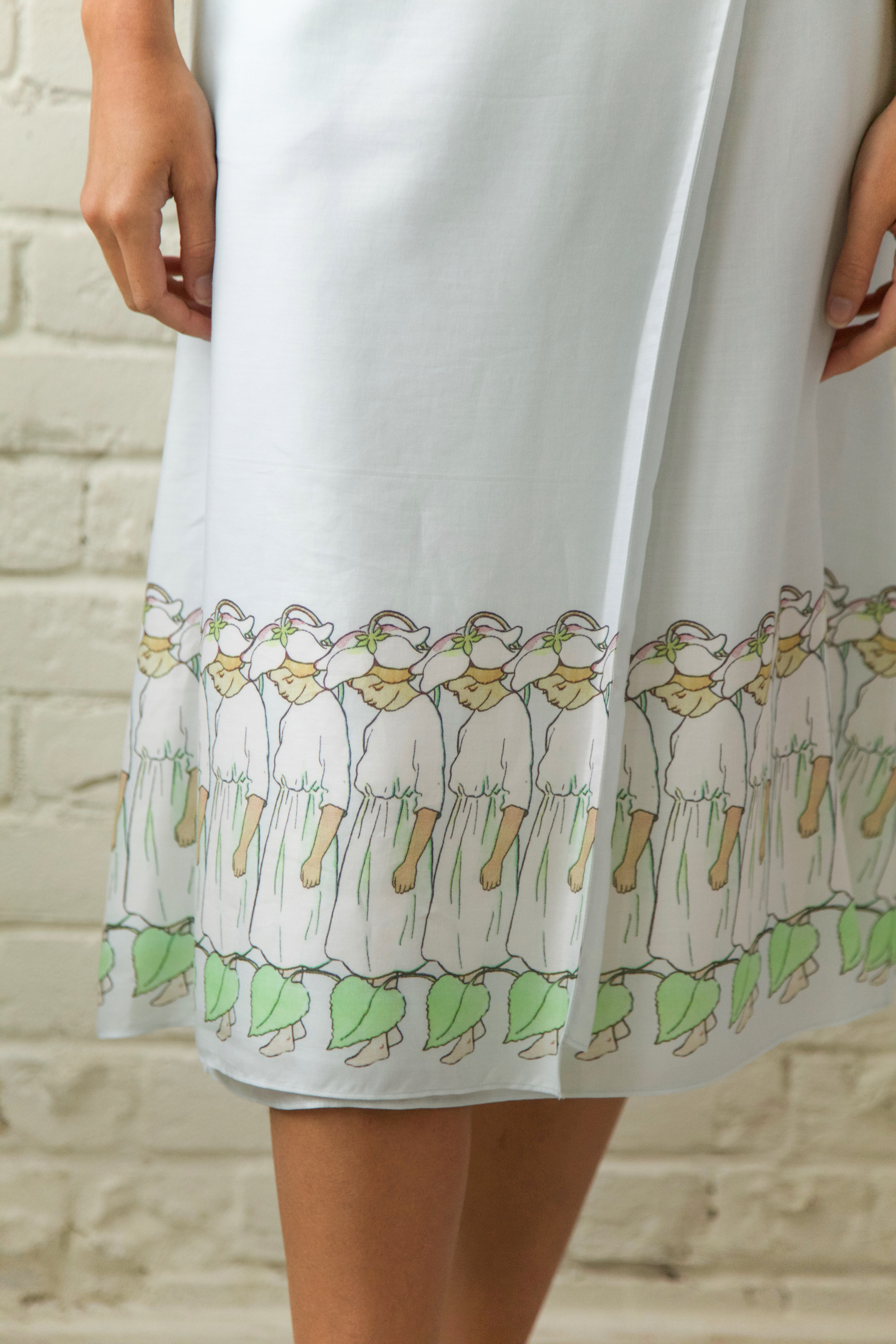 Marigold Skirt Detail
