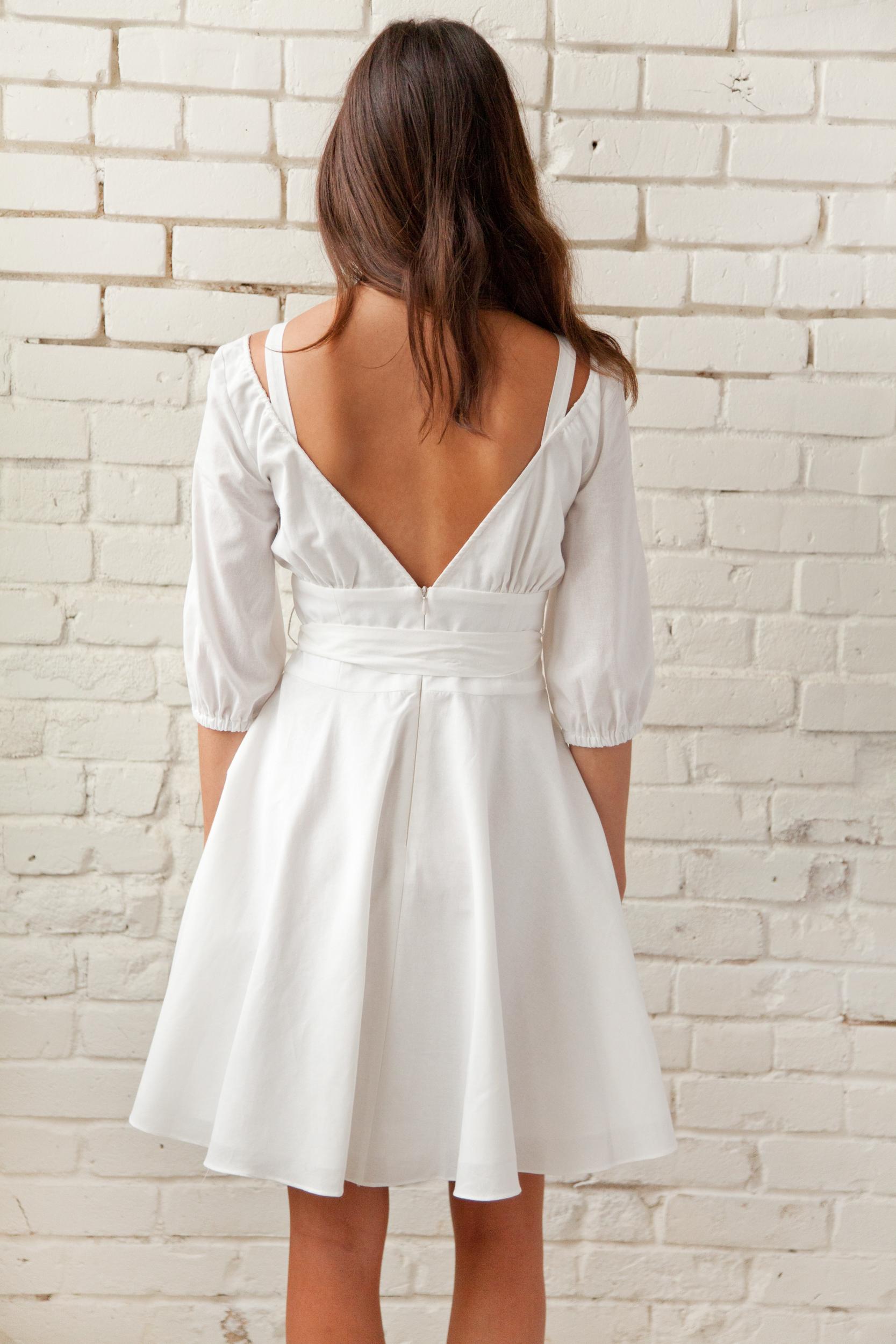 Plante White Primrose Dress