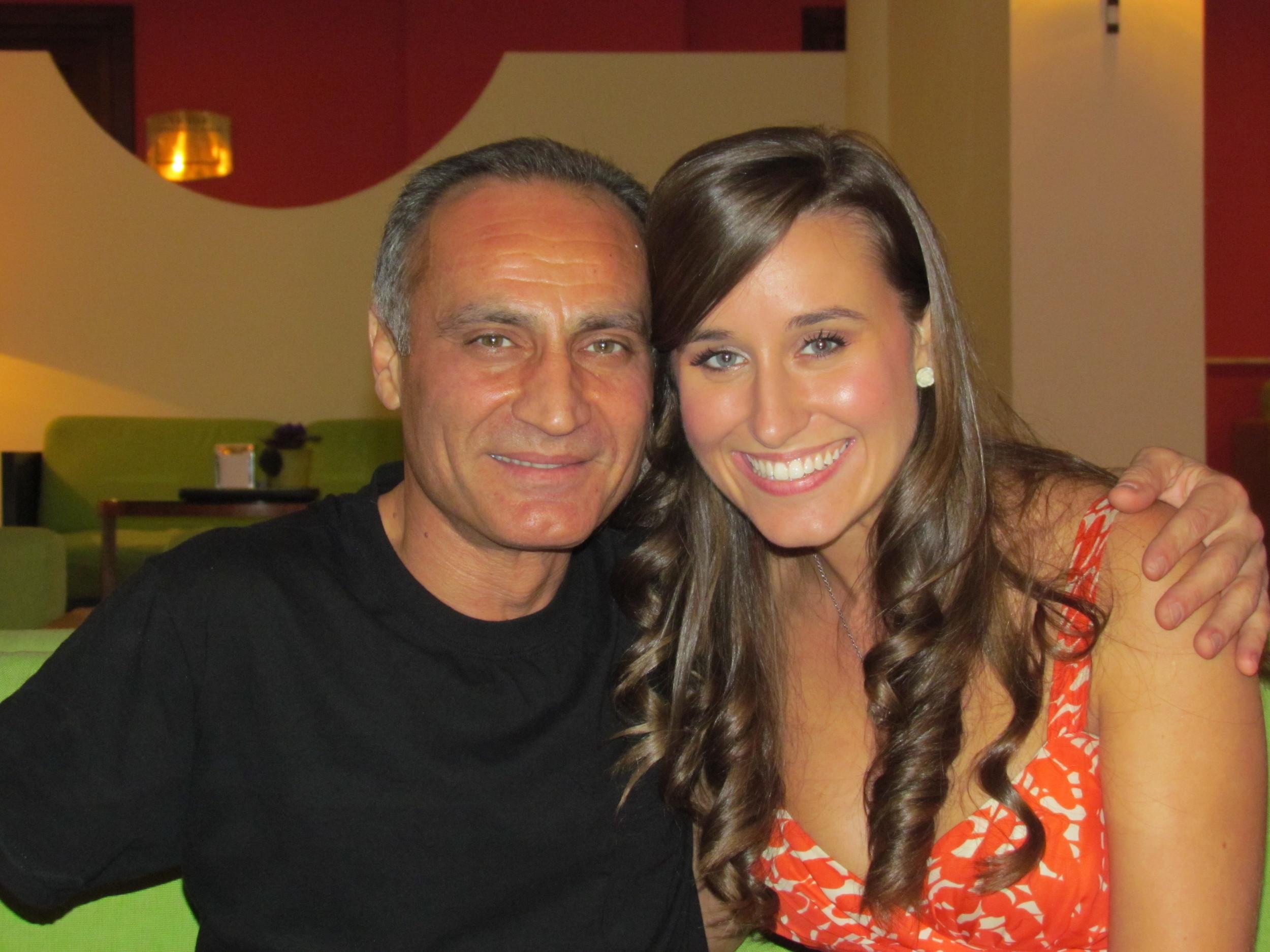 Samvel Yervinyan and Lauren in Armenia!