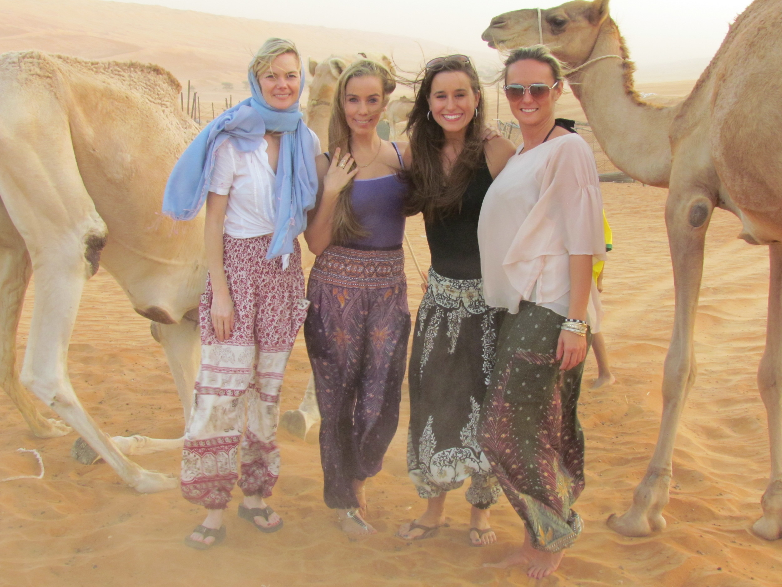 After a full day of exploring in Oman!