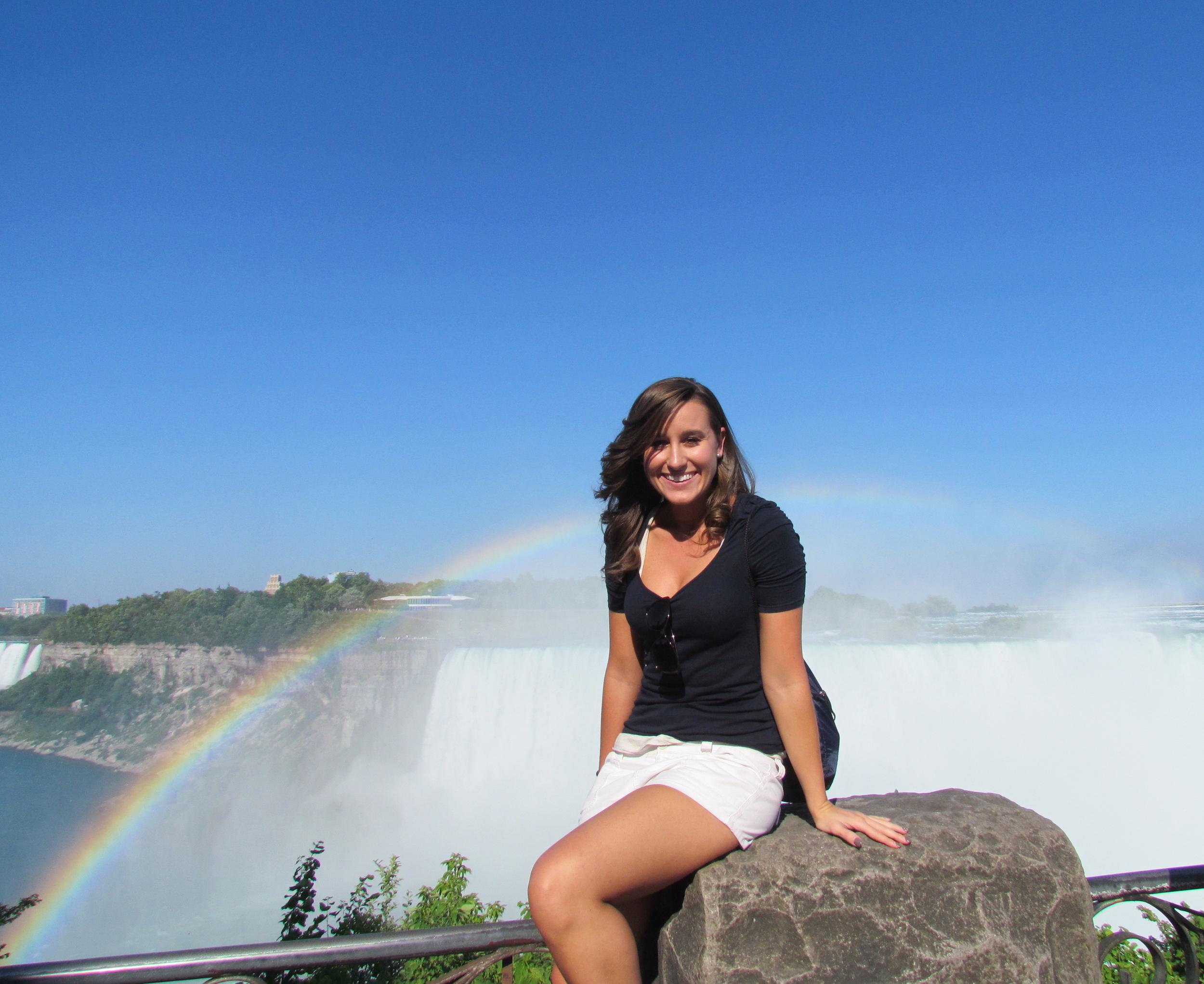 Lauren at Niagara Falls!