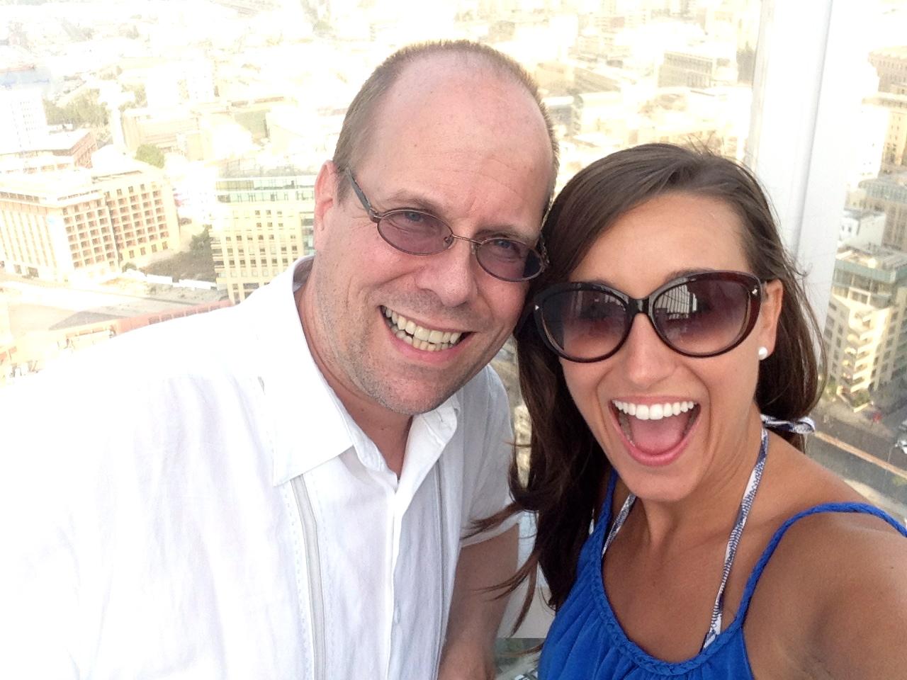 Benedikt Brydern and Lauren in Lebanon!