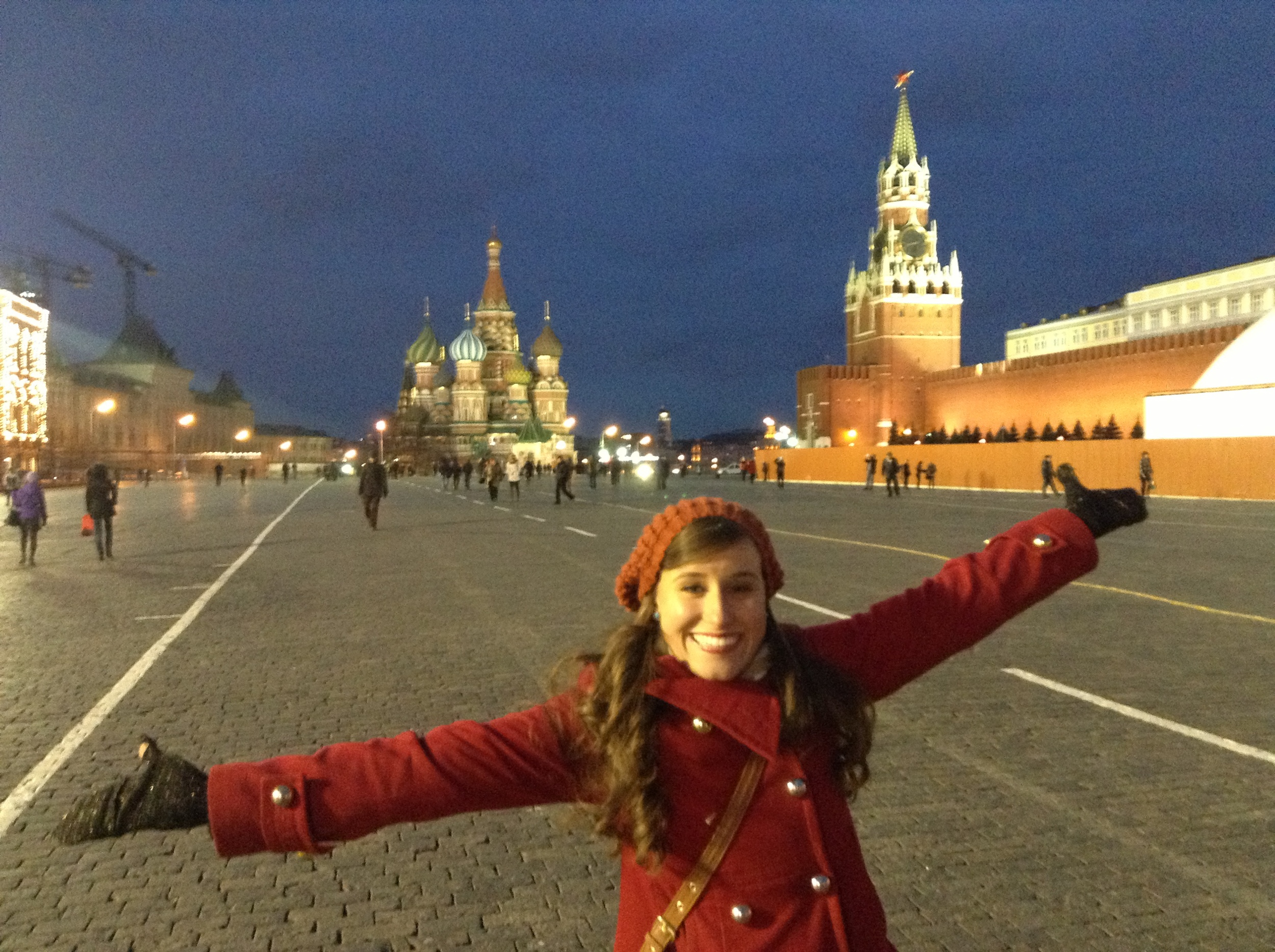 in Moscow, Russia!