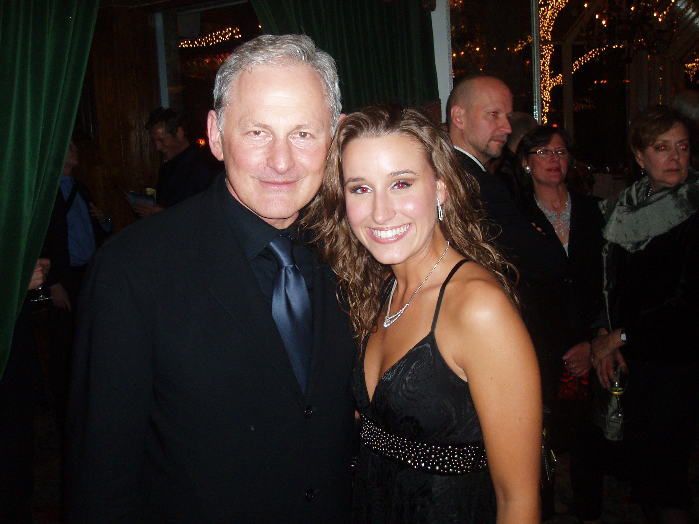 Victor Garber and Lauren at Tavern on the Green