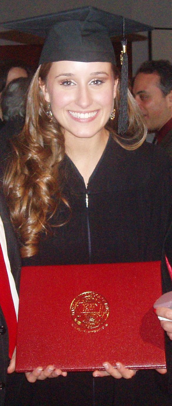 Graduation from the Manhattan School of Music