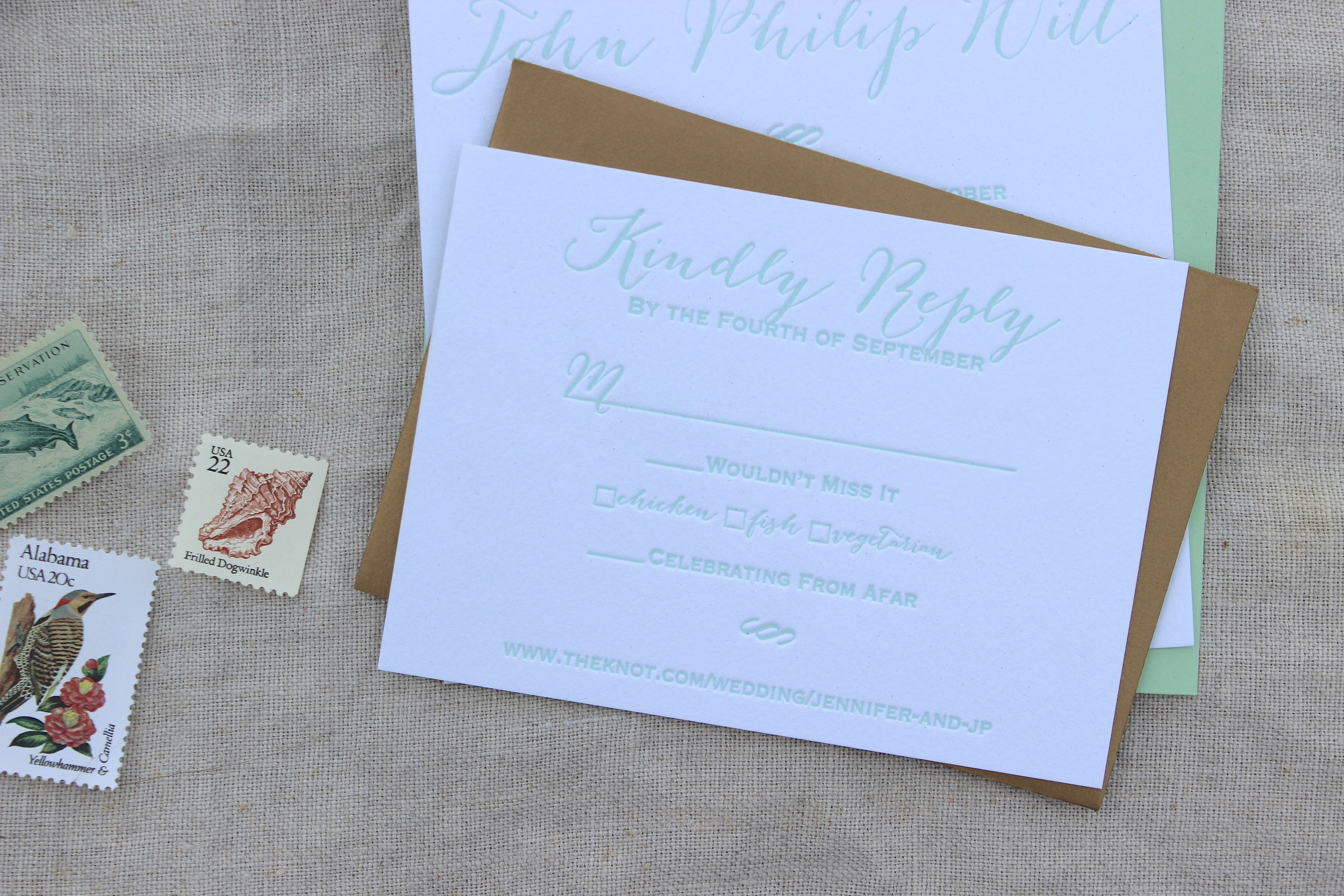 Victoria Austin Designs | Charleston Letterpress Invitations