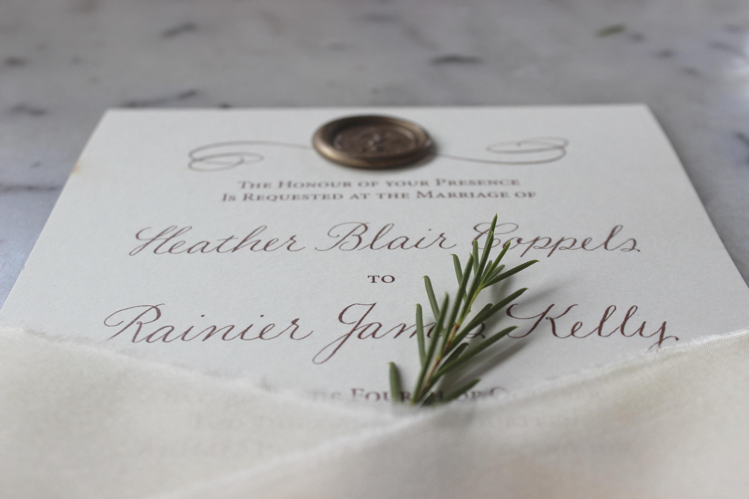 Custom Invitations | Victoria Austin Designs