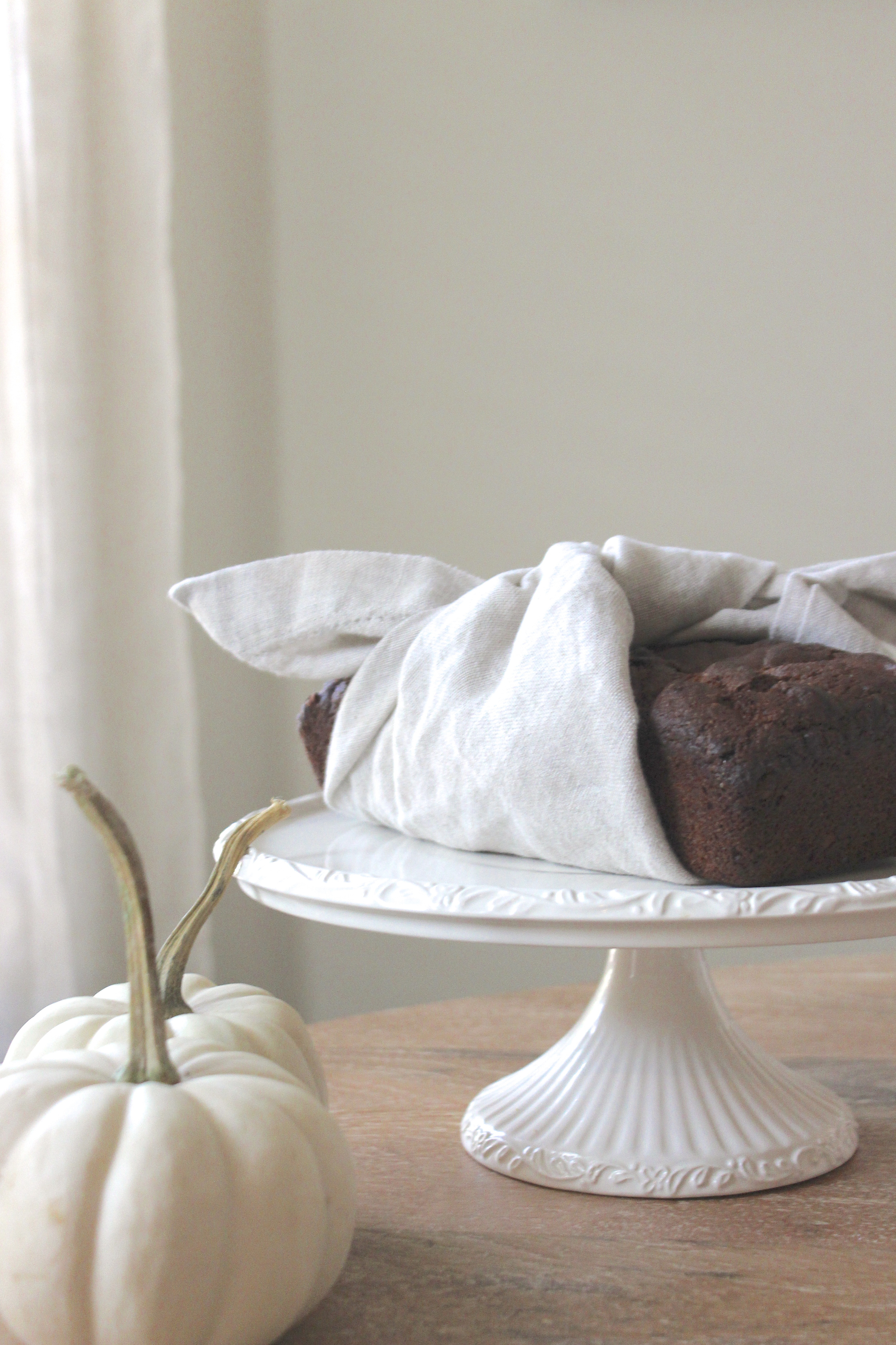 Victoria Austin Designs | Food Styling | Chocolate and Pecan Spiced Pumpkin Bread