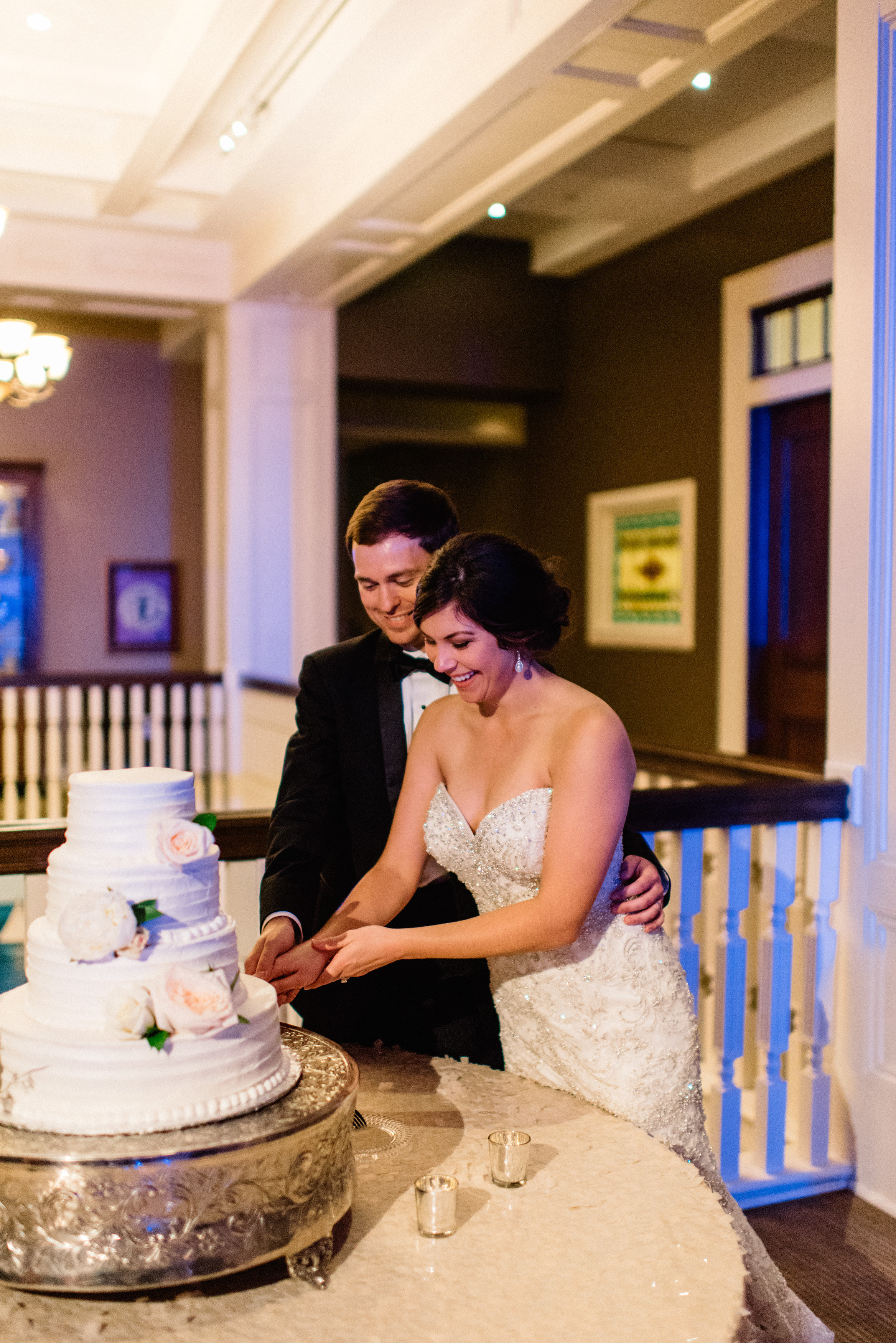 Ginny + John | Biloxi Wedding | Danny K Photography | Victoria Austin Designs