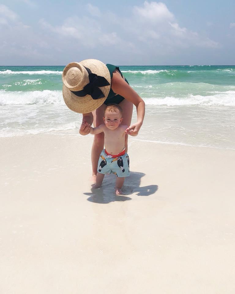 Mom and Baby, Rosemary Beach