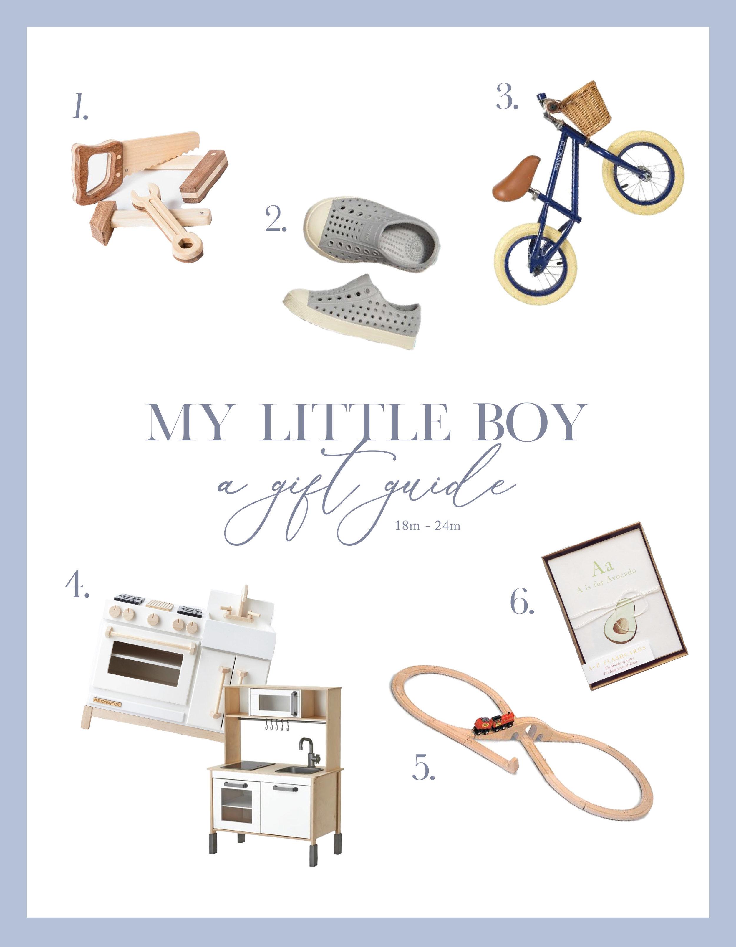 Little Boy Gift Guide | 18-24m | Victoria Austin
