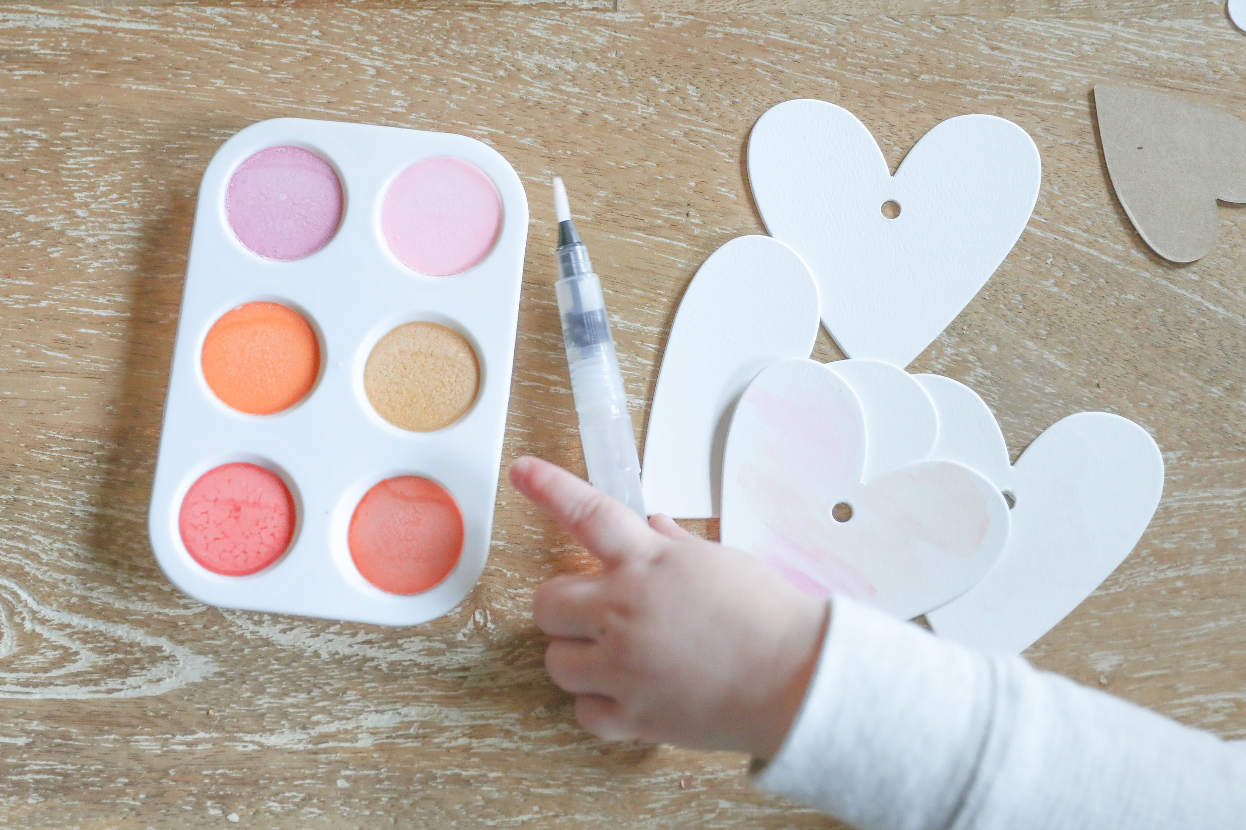 Homemade DIY Watercolors for Toddlers