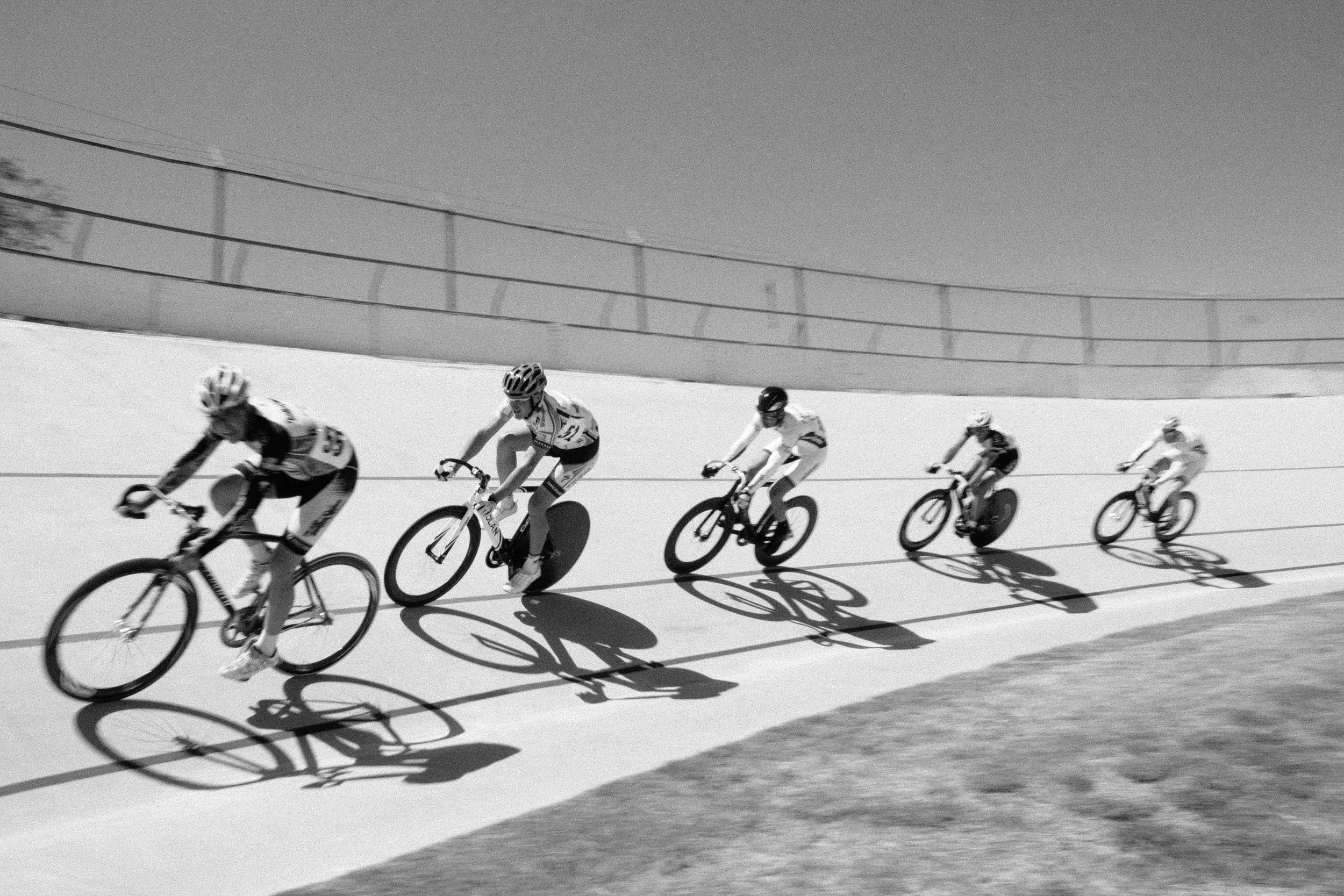 1. State Championships at the Encino Velodrome.