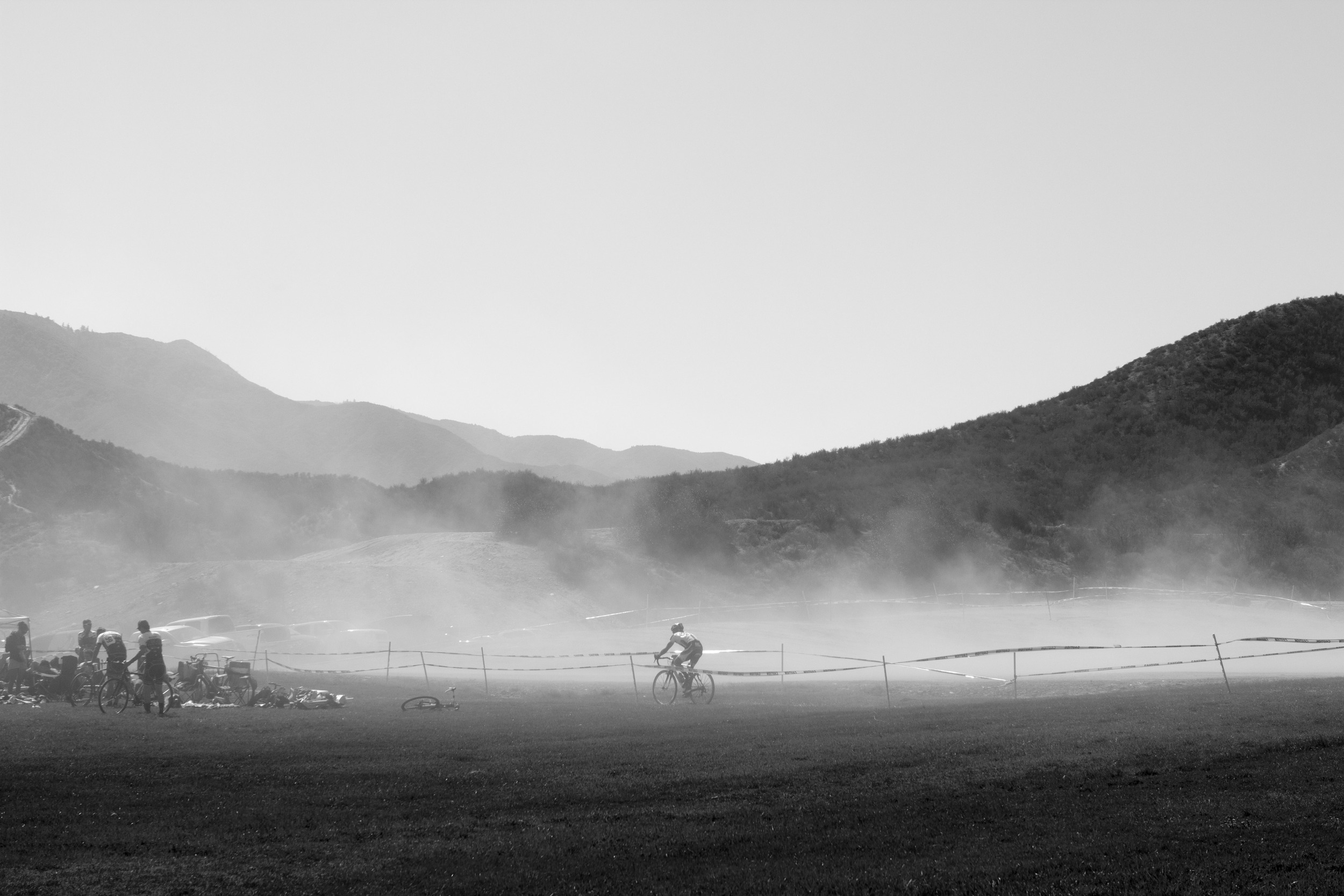 2. Dusty SoCal cyclocross.