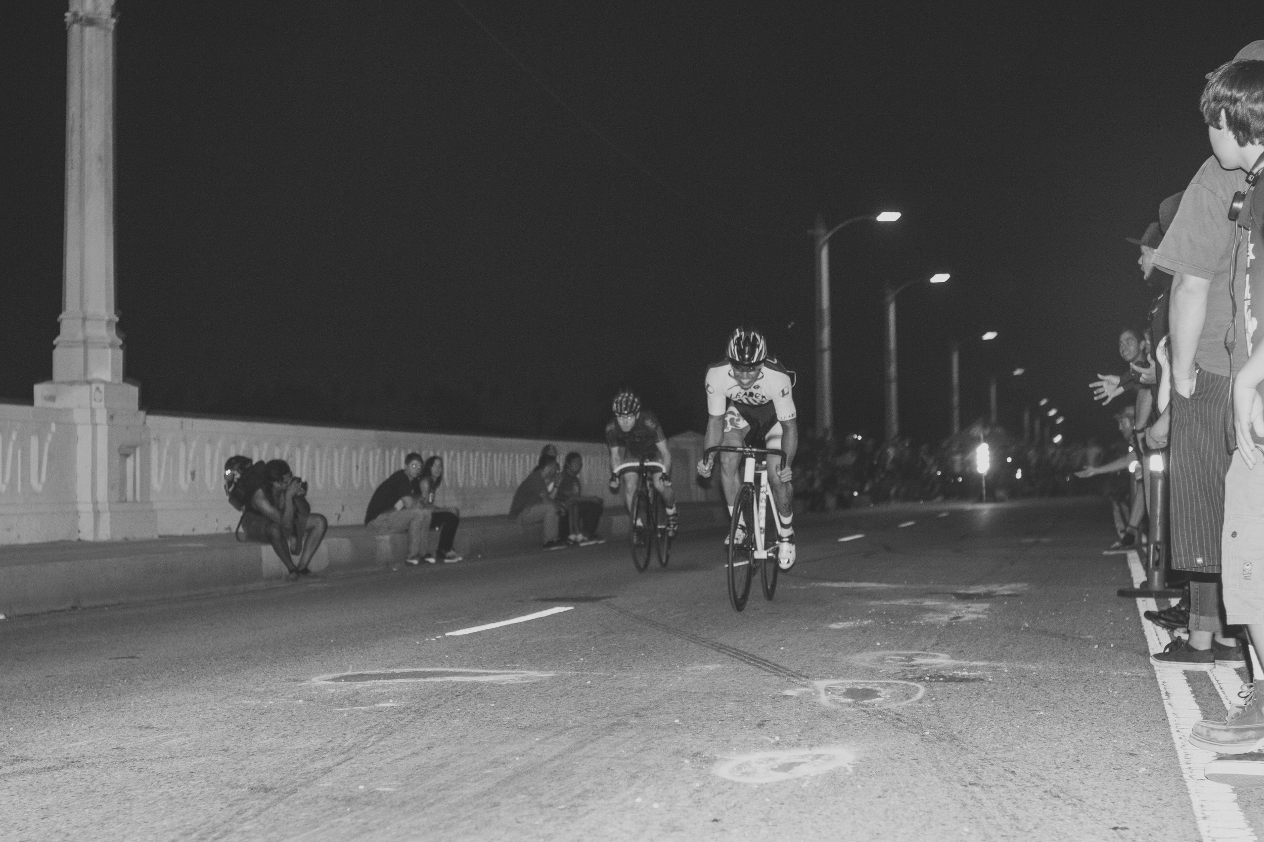 5. Wolfpack Hustle drag races on the 6th St bridge in downtown Los Angeles.