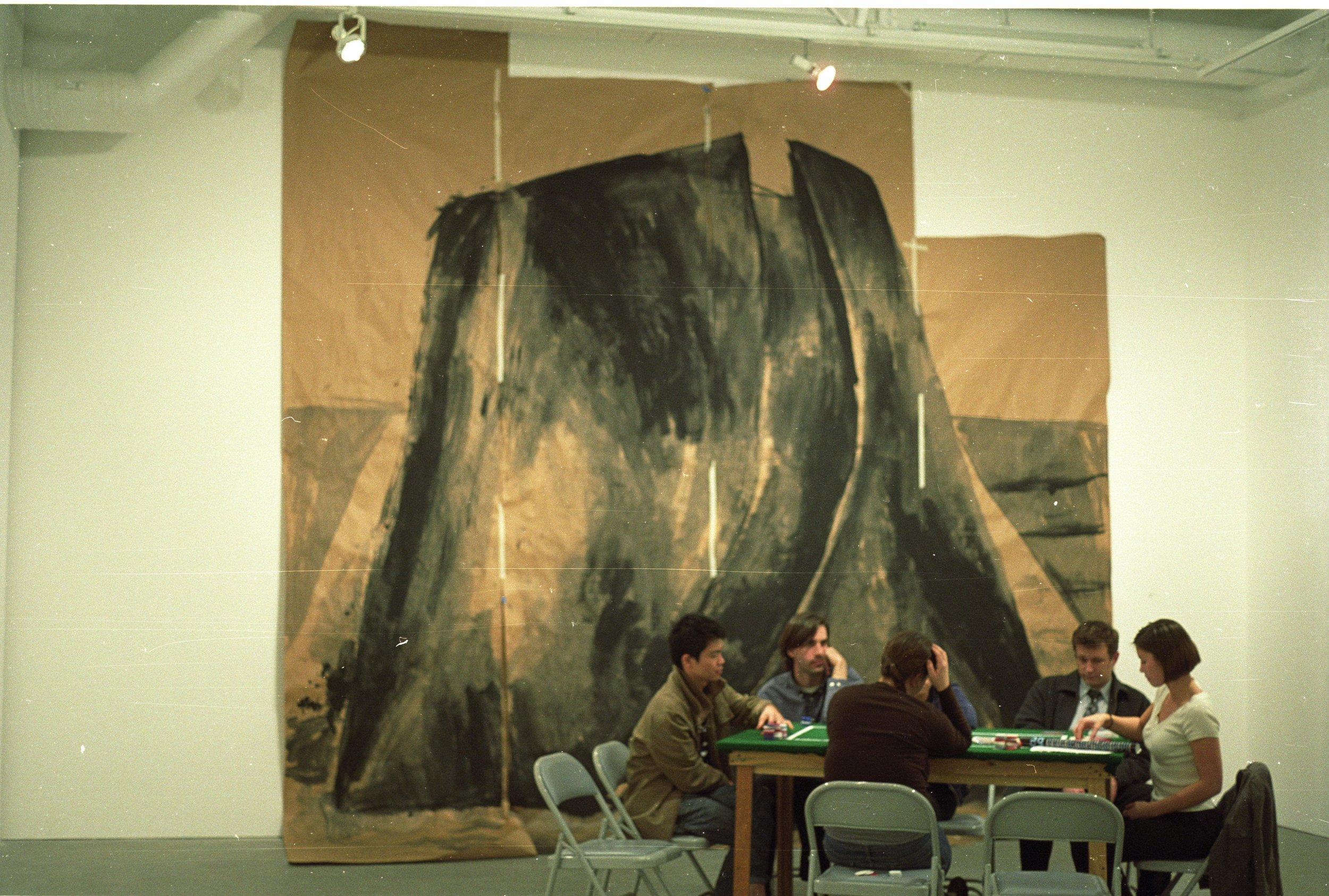 Installation view of  Richard Serra  in  Can We Sit on It,  New Wight Gallery, University of California, Los Angeles, CA.