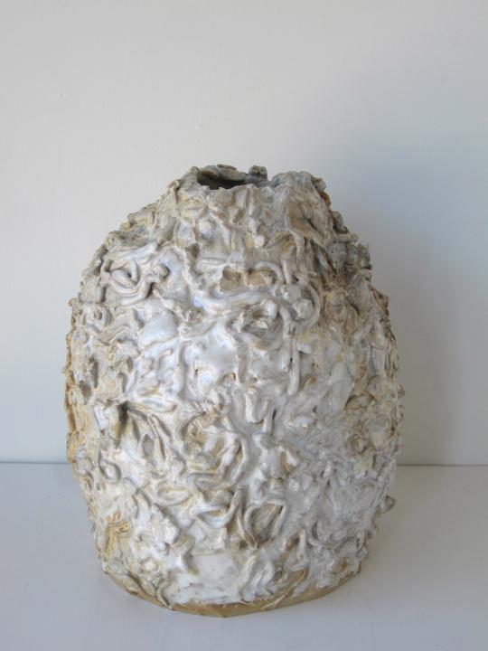 Stoneware and Glaze, 11 1/2 x 9 x 9 inches, 2017.