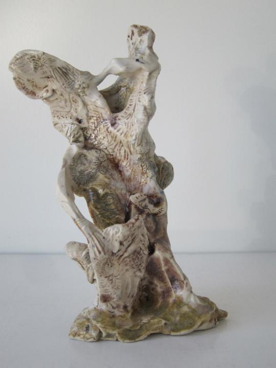 Stoneware and Glaze, 8 x 3 x 5 inches, 2014.