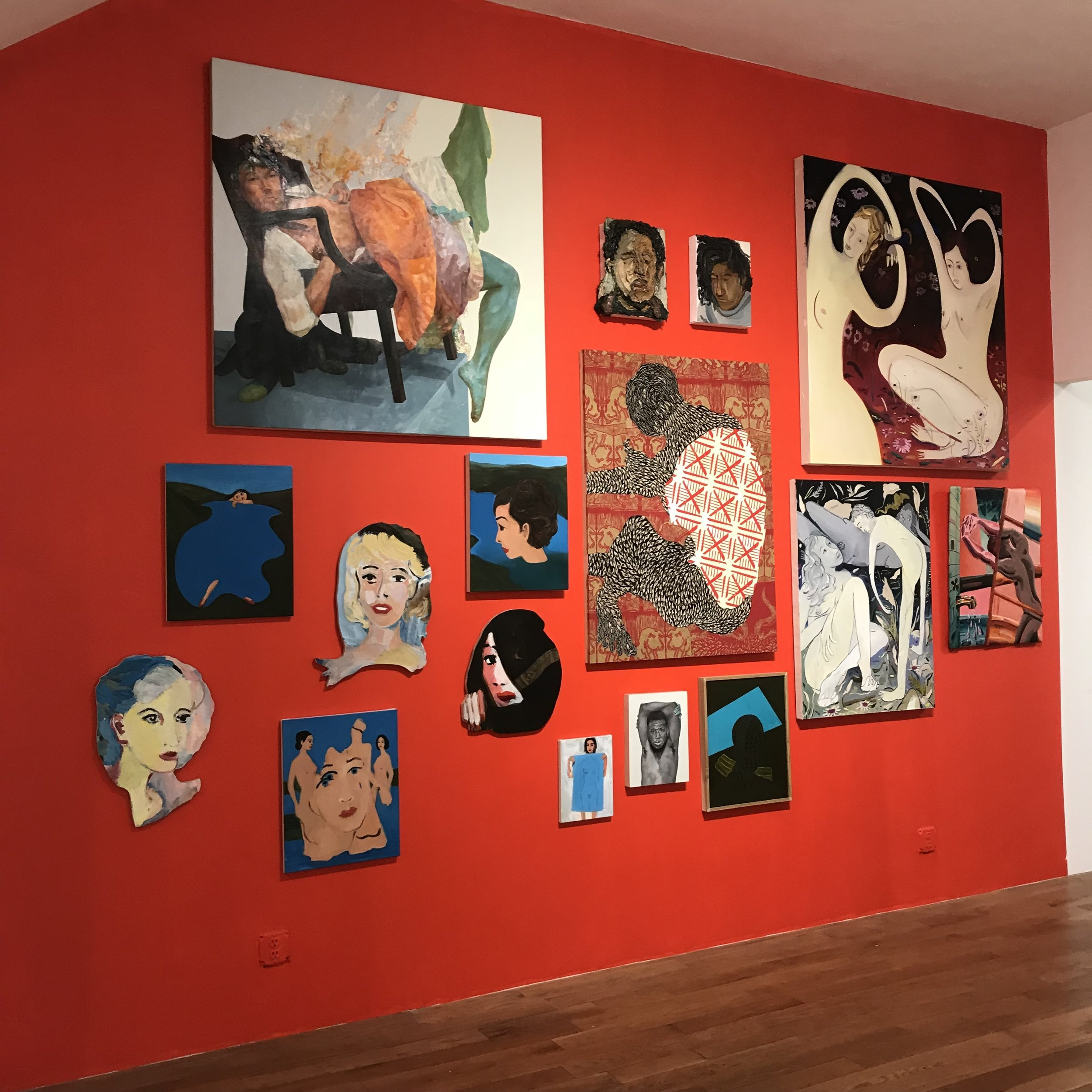 Installation View, Gildar Gallery, group exhibition Strange Looks, March 2018.