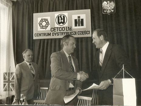 Cetco's Parts Distribution Center, HSW, Poland, 1980