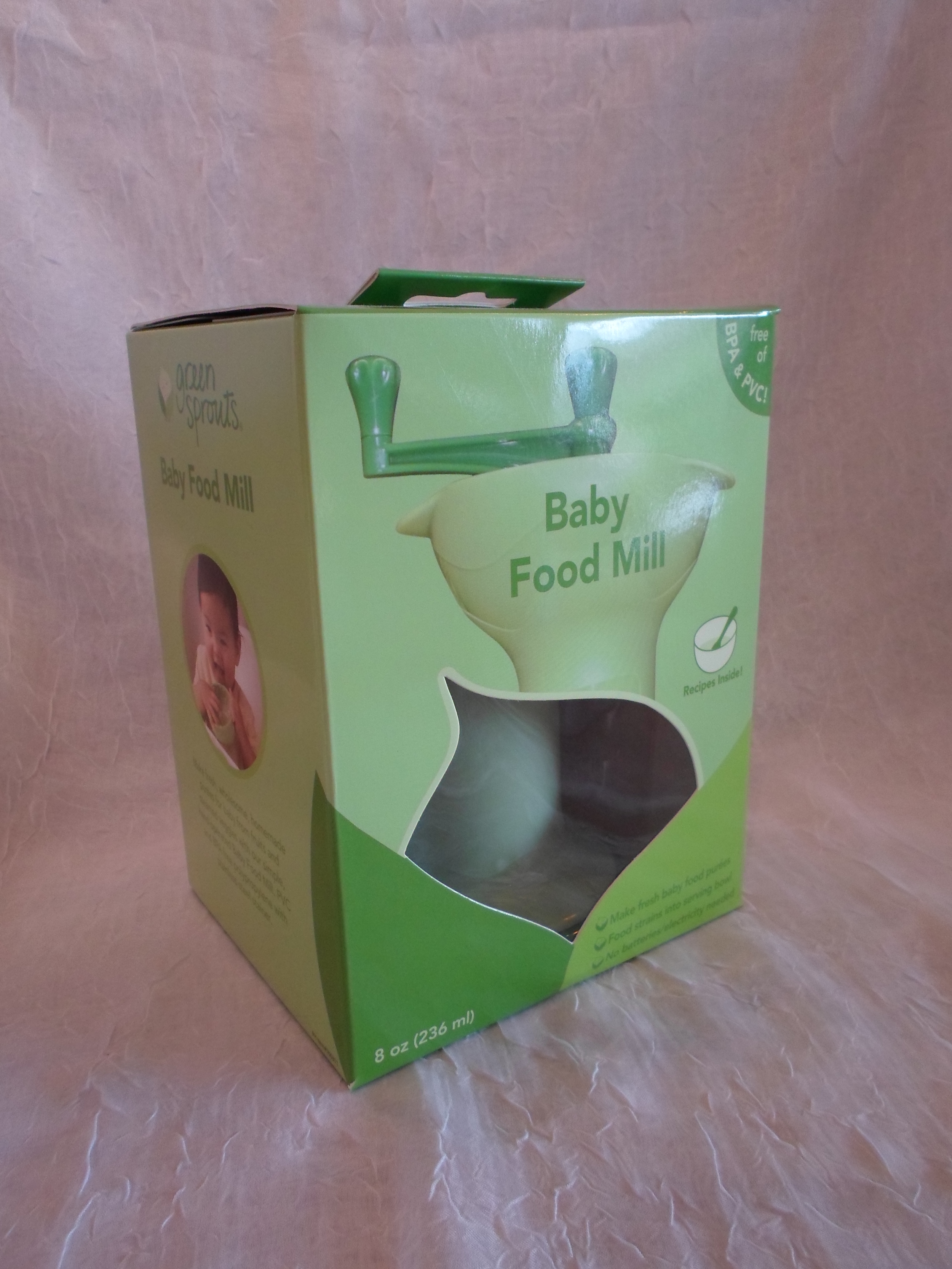 Green Sprouts Baby Food Mill    $16.95    Wants 1