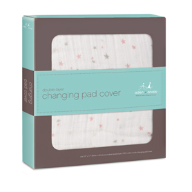 Aden & Anais Muslin Changing Pad Cover in Lovely    $24.95    Wants 1 PURCHASED