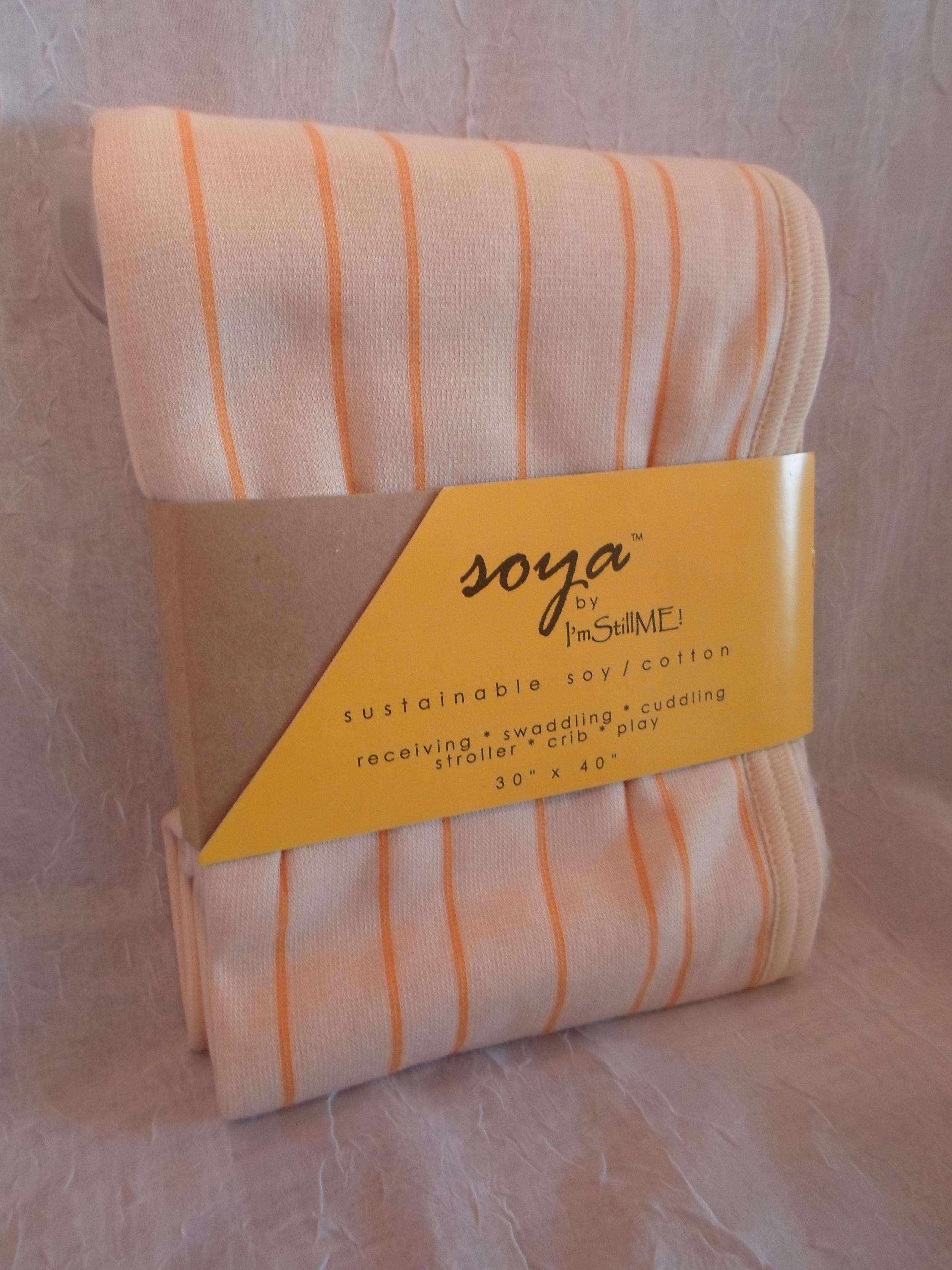 """Soya Blanket   30""""x40"""" in Orange     $29.95    Wants 1 PURCHASED"""