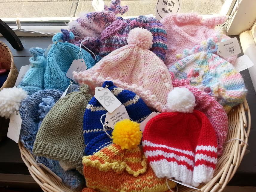 Newborn Knit Hat (your choice)  Locally Handmade   $24.95    Wants 1