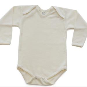 Hocosa Organic Wool/Silk Snap Bottom LS in size 3-6m    $49.00    Wants 1