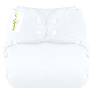 Bum Genius All-In-One, One Size,Organic Elemental Cloth Diaper in White    $24.95    Wants 1  purchased