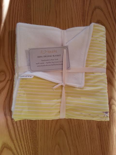 Kribbe Organic Blanket -  Locally Handmade   $54.95    Wants 1  purchased