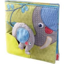 Haba Interactive Fabric Book- Baby Elephant    $19.95    Wants 1