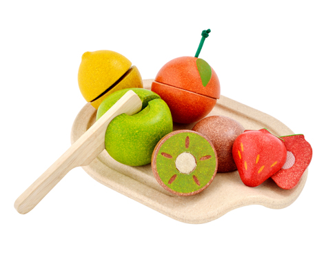 Plan Toys Assorted Fruit Cutting Set    $21.95    Wants 1  purchased