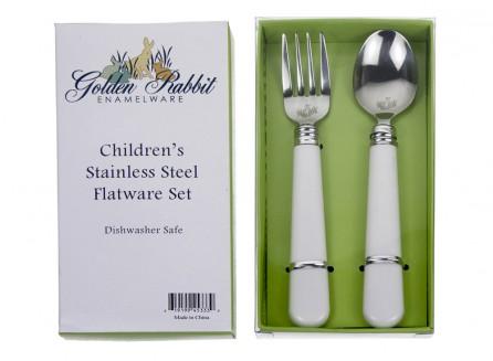 Golden Rabbit Toddler Spoon & Fork Set    $12.95    Wants 1  purchased