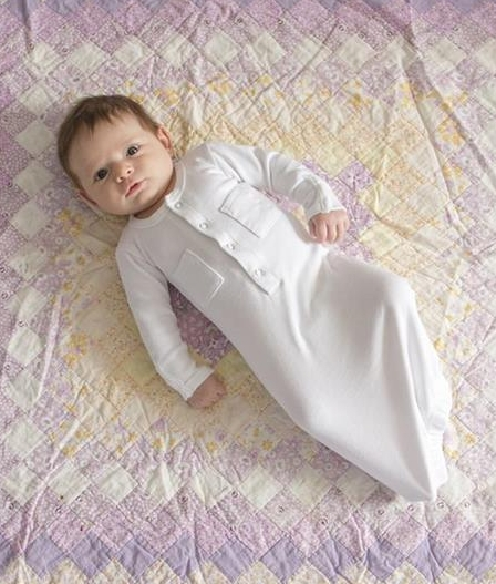 L'ovedbaby   Organic Gown in White size newborn     $25.95     Wants 1  purchased