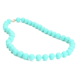Chewbeads Jane Necklace in Turquoise    (parent wears baby chews)   $29.50    Wants 1  Purchased