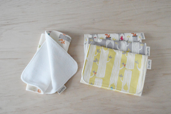 Kribbe Organic Cotton Burp Cloth set of 3 (your choice of pattern)    Locally Handmade   $39.00    Wants 1