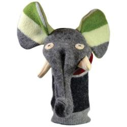 Cate & Levi Upcycled Wool Elephant Puppet (each is one of a kind)    $26.99    Wants 1 Purchased
