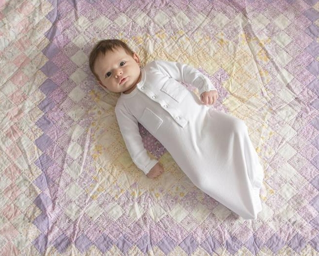 L'Oved Baby Organic Gown in Sage in size 3m    $25.95    Wants 1   purchased