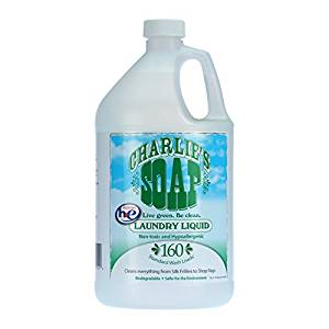 Charlie's Soap 1 Gallon Laundry Detergent    (safe for washing cloth diapers)   $35.95    Wants 1