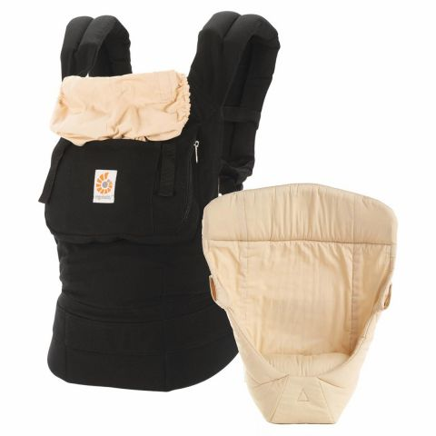 ErgoBaby Carrier with Insert in Black    $135.00    Wants 1  purchased