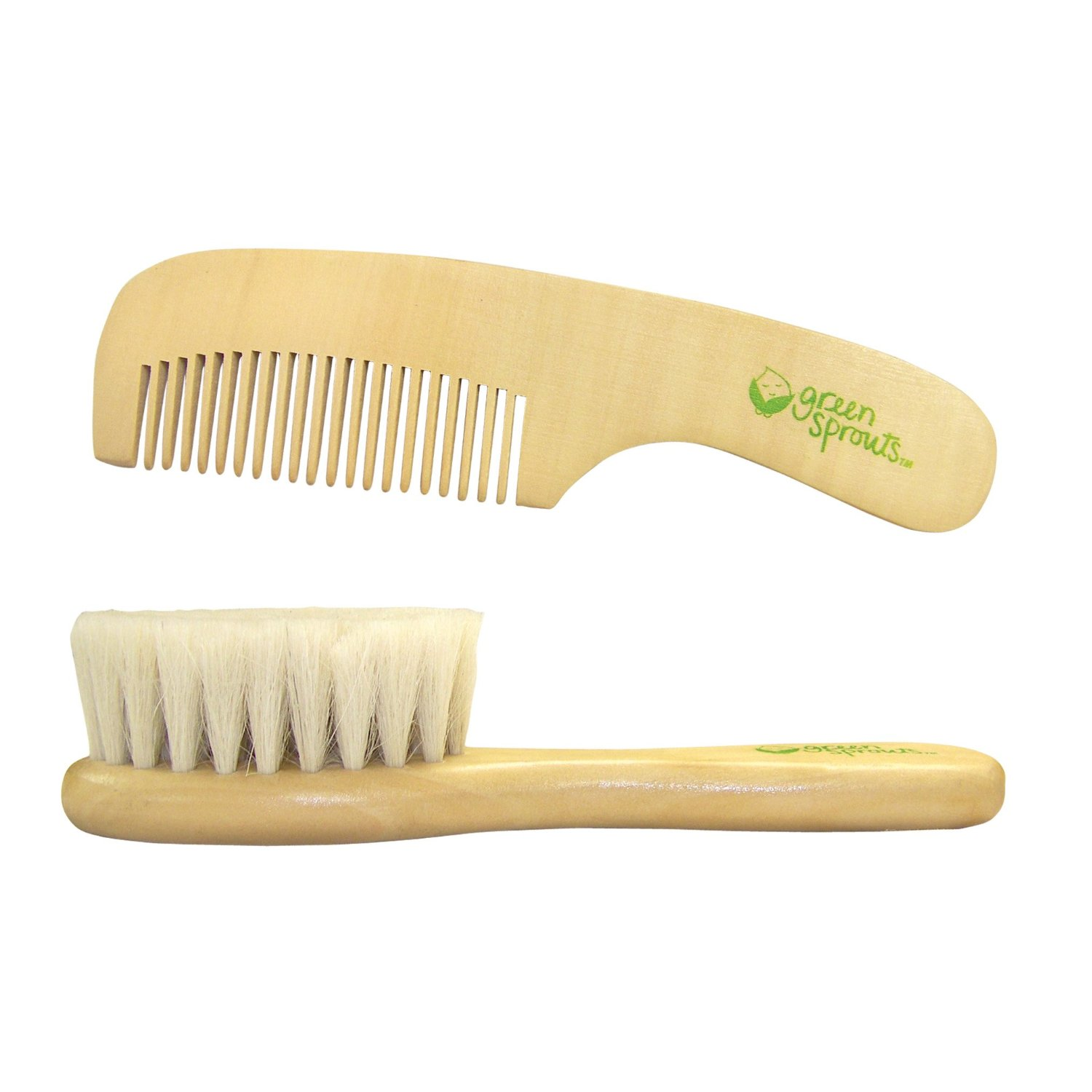 Green Spouts Wooden Brush and Comb set    $9.95 ea    Wants 2  (1) purchased