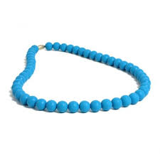 Chewbeads Jane Necklace in Blue   (parent wears - baby chews)   $29.50    Wants 1