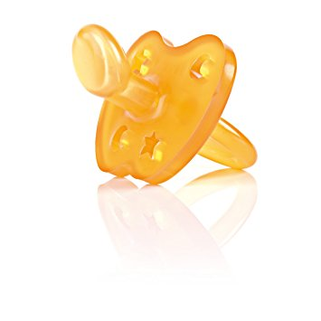 Hevea Natural Rubber Pacifier size small    $8.95    Wants 1  purchased