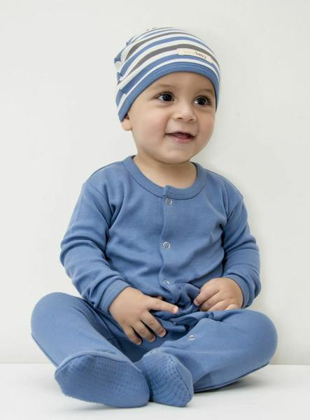 Loved' Baby Organic Footy in Slate size 3-6m   (cap not included)   $27.95    Wants 1